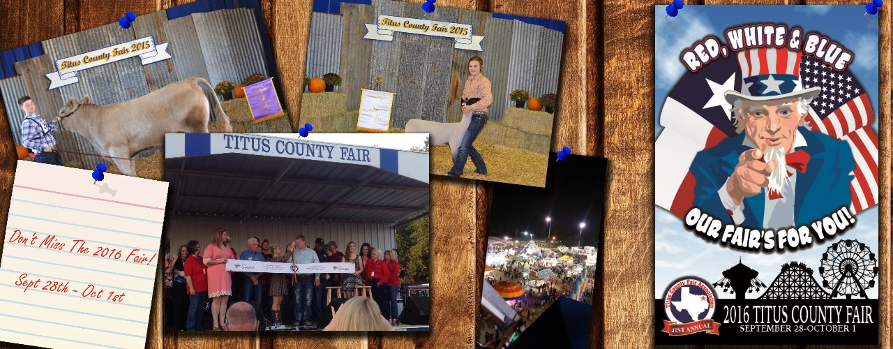 Don't Miss the 2016 Titus County Fair
